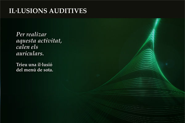 <p>Il·lusions auditives</p>